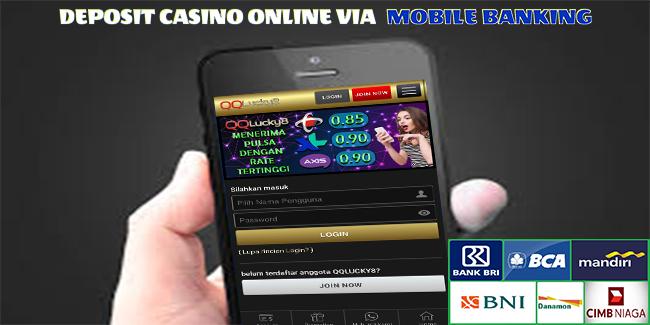 Deposit Casino Online Via Mobile Banking